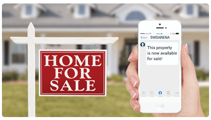bulk sms for real estate